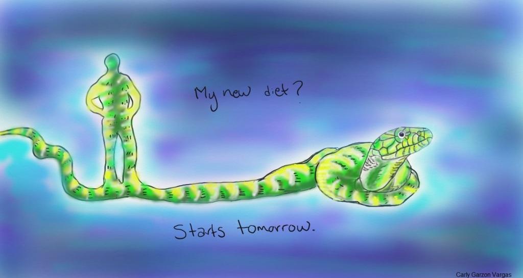 shamed snake