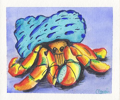Humberto el Cangrejo Hermitáneo Hubert the Hermit Crab